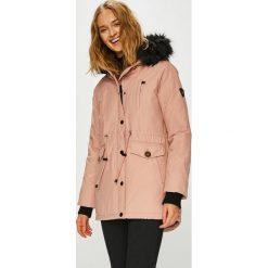 Haily's - Kurtka Java. Różowe kurtki damskie Haily's, l, w paski, z bawełny, z kapturem. Za 379,90 zł.