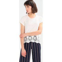 T-shirty damskie: Abercrombie & Fitch HEM TEE Tshirt z nadrukiem cream