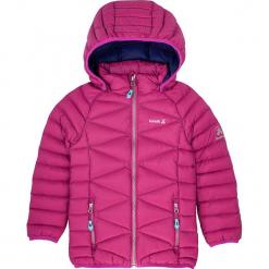 Kurtka puchowa w kolorze różowym. Czerwone kurtki dziewczęce puchowe marki Reserved, z kapturem. W wyprzedaży za 215,95 zł.