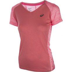 Bluzki damskie: koszulka do biegania damska ASICS FUZEX V-NECK SHORT SLEEVE TOP / 141214-0688 – ASICS FUZEX V-NECK SHORT SLEEVE TOP