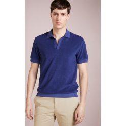 Koszulki polo: Editions MR SHORT SLEEVE TERRYCLOTH Koszulka polo plainnavy blue