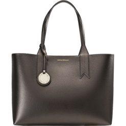 Emporio Armani SHOPPING BAG BIG Torebka acciaio/nero. Szare torebki klasyczne damskie Emporio Armani. Za 689,00 zł.