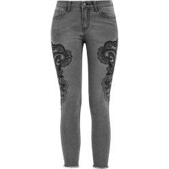 Fashion Victim Mandala Jeans Spodnie damskie szary. Szare jeansy damskie Fashion Victim. Za 89,90 zł.