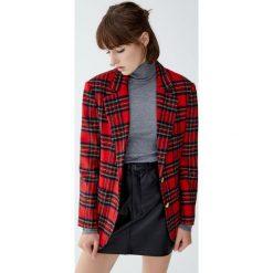 Sweter z golfem basic. Brązowe golfy damskie Pull&Bear. Za 59,90 zł.