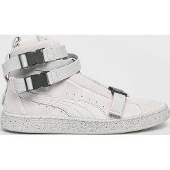 Puma - Buty Suede Classic x TheWeek. Szare buty skate męskie Puma, z gumy. W wyprzedaży za 549,90 zł.