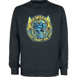 Dickies Springlake Bluza czarny. Szare bluzy męskie rozpinane marki Dickies, na zimę, z dzianiny. Za 164,90 zł.