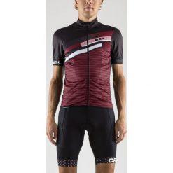 Odzież rowerowa męska: Craft Koszulka rowerowa Reel Graphic Jersey bordowo-czarna r. L  (1905004 - 9430)