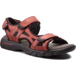 Sandały męskie: Sandały LASOCKI FOR MEN – MI07-A644-A505-06 Czerwony