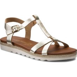 Sandały damskie: Sandały MARCO TOZZI – 2-28629-20 Platinum 957
