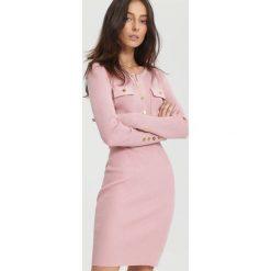 Różowa Sukienka Right Music. Czerwone sukienki dzianinowe other, na jesień, l. Za 99,99 zł.