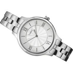Zegarek Timex Damski TW2R28200 Peyton Classic srebrny. Szare zegarki damskie Timex, srebrne. Za 322,99 zł.
