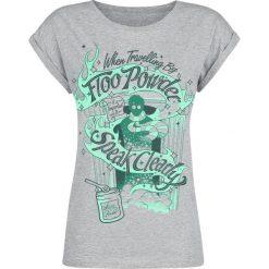 Bluzki asymetryczne: Harry Potter Floo Powder Koszulka damska odcienie szarego