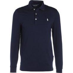 Polo Ralph Lauren Golf PERF INTERLOCK PROFIT Koszulka polo french navy. Niebieskie koszulki polo marki Polo Ralph Lauren Golf, l, z elastanu, z długim rękawem. W wyprzedaży za 413,10 zł.