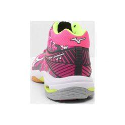 Buty sportowe damskie: Mizuno WAVE LIGHTNING Z4 MID Obuwie do siatkówki pink glo/white/iron gate
