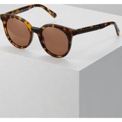 Stella McCartney Okulary przeciwsłoneczne avanna. Brązowe okulary przeciwsłoneczne damskie aviatory Stella McCartney. W wyprzedaży za 975,20 zł.