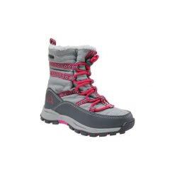 Buty Dziecko Kappa  Farvel Tex K 260492K-1622. Szare buty trekkingowe dziewczęce marki Kappa. Za 119,99 zł.