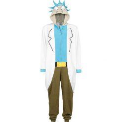 Rick And Morty Rick Kombinezon wielokolorowy. Szare kombinezony z printem Rick And Morty, xl, długie. Za 244,90 zł.