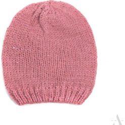 Czapka damska Błysk różowa. Czarne czapki zimowe damskie marki BIG STAR, z gumy. Za 28,94 zł.