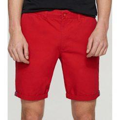 Spodenki i szorty męskie: Szorty chino regular fit - Czerwony