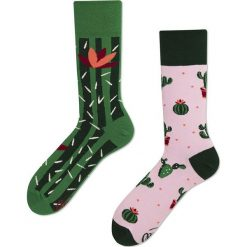 Many Mornings - Skarpetki Summer Cactus. Szare skarpetki damskie marki Many Mornings, z bawełny. Za 24,90 zł.