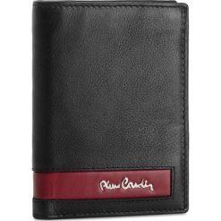 Duży Portfel Męski PIERRE CARDIN - TILAK26 330 Black/Red. Czarne portfele męskie Pierre Cardin, ze skóry. Za 129,00 zł.