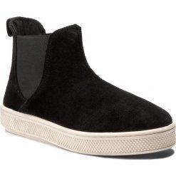 Sztyblety BIG STAR - Y273036 Black. Czarne buty zimowe damskie BIG STAR, z materiału. W wyprzedaży za 169,00 zł.