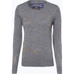 Superdry - Sweter damski, szary. Szare swetry klasyczne damskie Superdry, l. Za 299,95 zł.