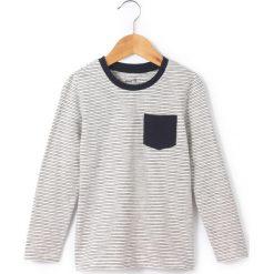Odzież chłopięca: Koszulka z długim rękawem, w paski, 3-12 lat