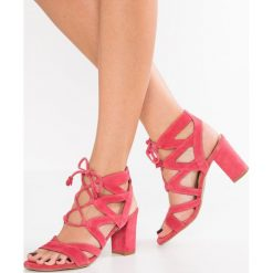 Rzymianki damskie: Brenda Zaro PORTU Sandały fresa pink