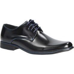 Czarne buty wizytowe sznurowane Casu MXC397. Czarne buty wizytowe męskie Casu, na sznurówki. Za 79,99 zł.