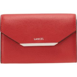 Portfele damskie: Lancel ENBELOPP CONTINENTAL Portfel red lancel