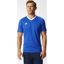Adidas Koszulka męska Tiro 17 niebieska r. XS (BK5439). Niebieskie koszulki sportowe męskie marki Adidas, m, do piłki nożnej. Za 77,90 zł.