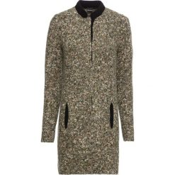 Sweter rozpinany bonprix czarno-kolorowy. Czarne kardigany damskie bonprix, z dzianiny. Za 99,99 zł.