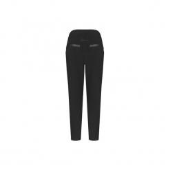 Spodnie damskie IVETTE  PANTS CZARNE. Czarne spodnie z wysokim stanem MeMola, z dzianiny. Za 279,90 zł.