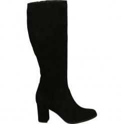 Kozaki - 7222405 NERO. Czarne buty zimowe damskie Venezia, ze skóry. Za 499,00 zł.