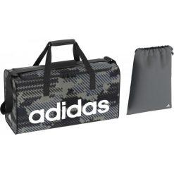 Torby podróżne: Adidas Torba Sportowa Lin Per Tb M Gr Vista Grey/Black/White M