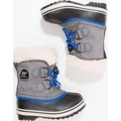 Buty zimowe damskie: Sorel YOOT PAC Śniegowce city grey