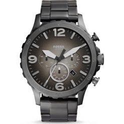 Zegarek FOSSIL - Nate JR1437 Smoke/Smoke. Różowe zegarki męskie marki Fossil, szklane. Za 849,00 zł.
