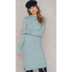 Długie sukienki: Second Female Sukienka Brook - Blue,Turquoise