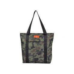 Duża torba szoperka 1 - moro. Zielone torebki klasyczne damskie Militu, moro, z tkaniny, duże. Za 199,00 zł.