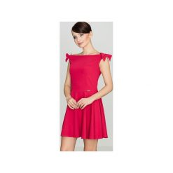 Odzież damska: Sukienka K170 Czerwony