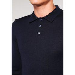 Swetry klasyczne męskie: Reiss TRAFFORD Sweter navy