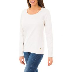 Sweter w kolorze białym. Białe swetry klasyczne damskie marki McGregor, Gaastra, s, z koronki, z dekoltem na plecach. W wyprzedaży za 319,95 zł.