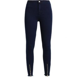 Missguided VICE HIGH WAISTED ZIP FRONT Jeans Skinny Fit black. Czarne jeansy damskie marki Missguided. Za 149,00 zł.