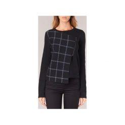 Swetry Armani jeans  RATOL. Czarne swetry klasyczne damskie marki Armani Jeans, z jeansu. Za 919,20 zł.
