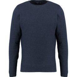 Swetry klasyczne męskie: Springfield MELANGE Sweter blue