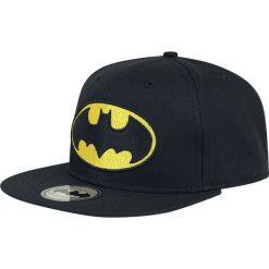 Batman Logo Czapka Snapback czarny. Czarne czapki z daszkiem damskie Batman, z motywem z bajki, z tworzywa sztucznego. Za 69,90 zł.