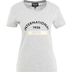 T-shirty damskie: Barbour International™ Tshirt z nadrukiem light grey marl