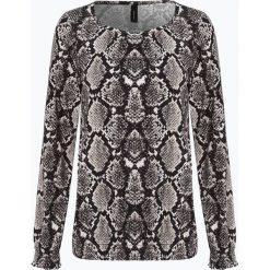 Soyaconcept® - Damska koszulka z długim rękawem – Felicity, czarny. Czarne t-shirty damskie Soyaconcept, l, z motywem zwierzęcym, z dżerseju. Za 149,95 zł.