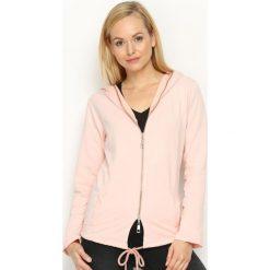 Bluzy damskie: Różowa Bluza Remorse